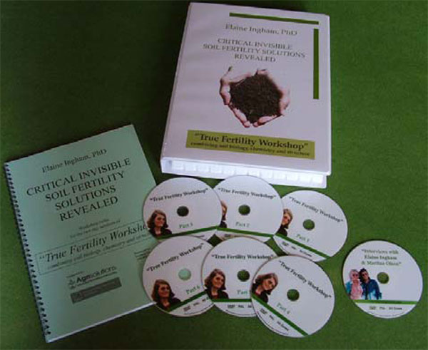 Critical Invisible Soil Fertility Solutions Revealed 6 DVD set